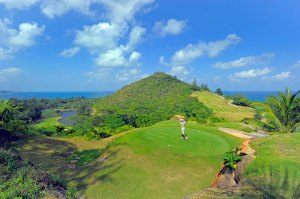 Lemuria: the only golf course in the Seychelles