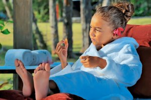 Spa fun for children and teens at Constance Le Prince Maurice