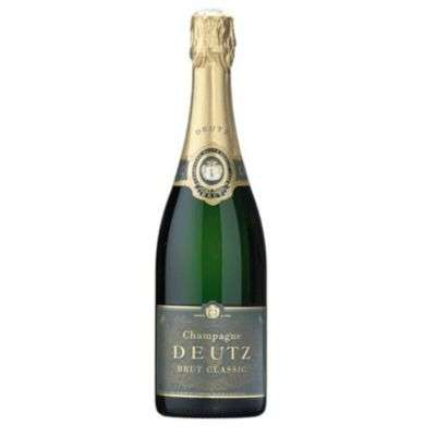 Deutz Champagne Bottle