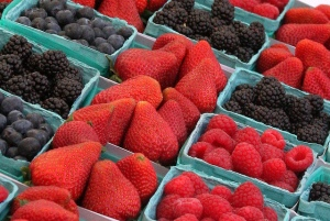 Fruit on sale at the market