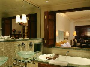Constance Belle Mare Plage junior suite bathroom