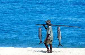 Fisherman at Constance Lodge Tsarabanjina, Madagascar
