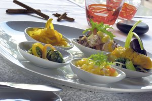 Dishes prepared at Constance Hotels Experience