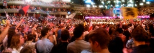 Last night of the proms - in the arena
