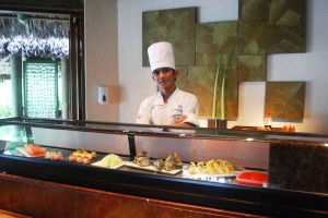 Chef Federico Casupanan, Sushi chef at Constance Ephelia Resort